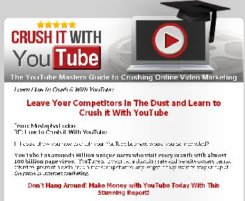 Crush it With YouTube Coupon Codes
