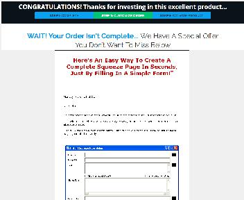Instant Squeeze Builder Coupon Codes