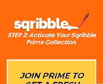Sqribble PRIME Coupon Codes