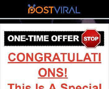 PostViral Campaigns Discount Coupon Codes