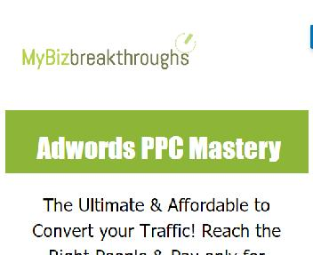 Adwords PPC Mastery Pre-Launch Coupon Codes