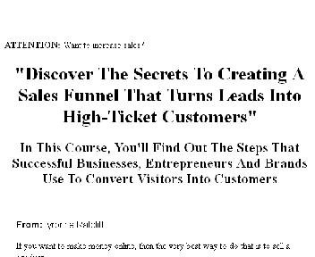 The Sales Funnel Authority Coupon Codes
