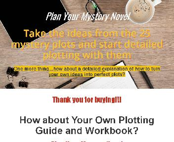 Plan Your Mystery Novel Resell PLR Coupon Codes