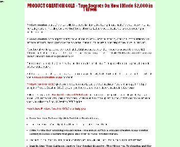 Product Creation GOLD Coupon Codes