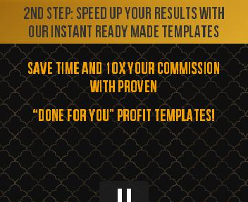 DONE-FOR-YOU PROFIT TEMPLATES Coupon Codes