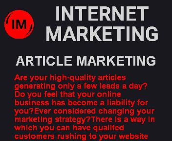 Article Marketing (new) Coupon Codes