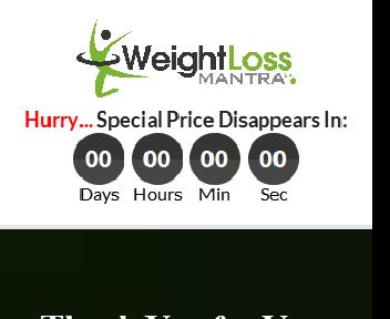 Weight Loss Mantra Upsell Pack With PLR Coupon Codes