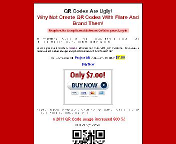 Project QR Coupon Codes
