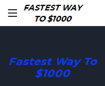 Fastest Way To $1000 Coupon Codes