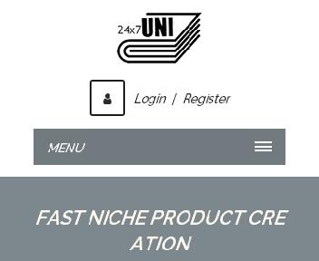 Online Course: Fast Niche Product Creation Coupon Codes