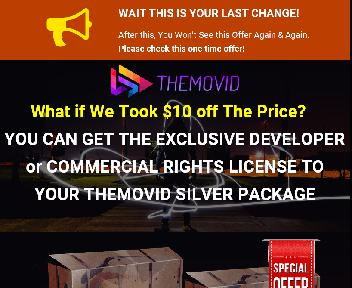 TheMovid Silver Package + Developer License discount code