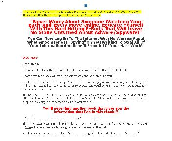 Protect Yourself From Adware/Spyware Coupon Codes
