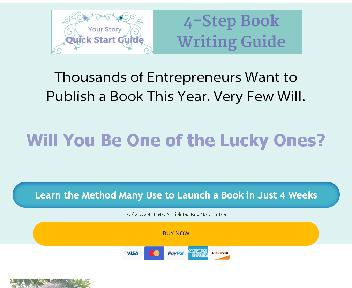 Your Story Quick Start Book Writing Guide Coupon Codes