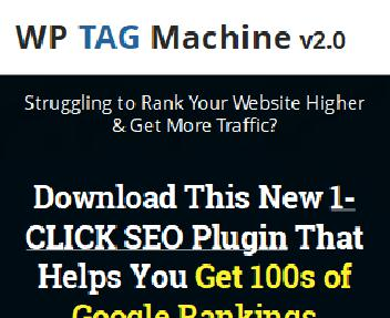 WP Tag Machine 2.0 - For Unlimited Sites discount code