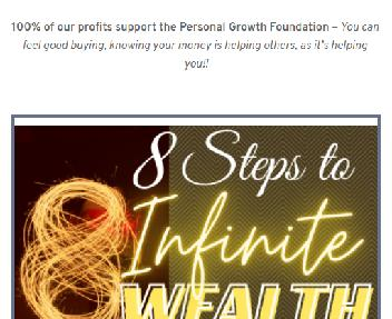 8-Steps to Infinite Wealth Primer Coupon Codes