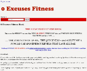0 Excuses Fitness Coupon Codes