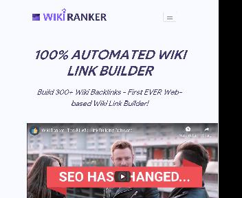 Wiki Ranker Coupon Codes
