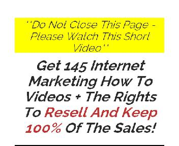 145 IM How To Videos with Private Label Rights Coupon Codes