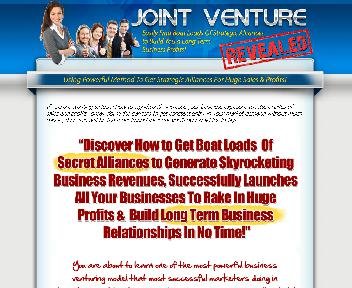 Joint Venture Revealed Coupon Codes