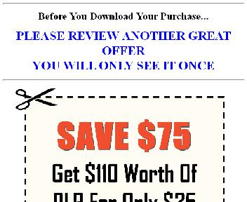 $110 Worth Of PLR For $27 Coupon Codes