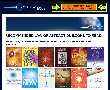 The Law of Attraction Coupon Codes