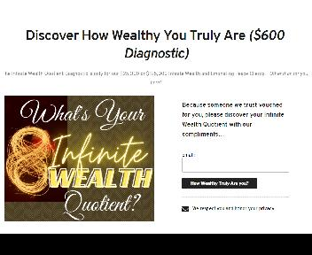 Infinite Wealth Experience Coupon Codes