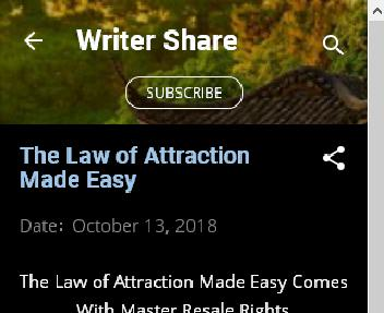 The Law of Attraction Made Easy Coupon Codes
