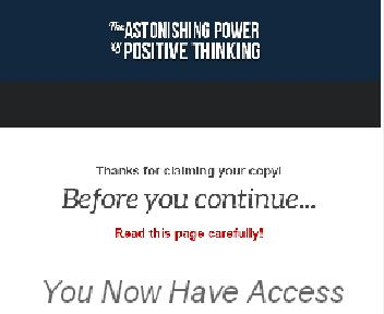 Positive Thinking Coupon Codes