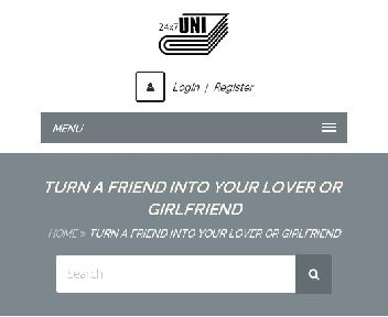 Online course: Turn a friend into your lover or girlfriend Coupon Codes