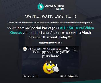 Viral Video Quotes with Coupon Codes