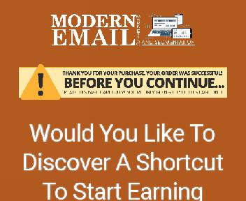 Modern Email Marketing Coupon Codes