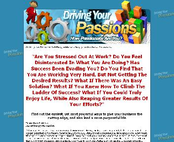 Driving your Passion Coupon Codes
