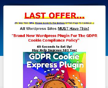 OTO GDPR Cookie Express Plugin Pack Coupon Codes