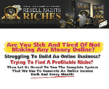 Resell Rights Riches EAI Coupon Codes