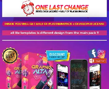 Graphic ALTA Stories And ADS Pack (Lite) discount code