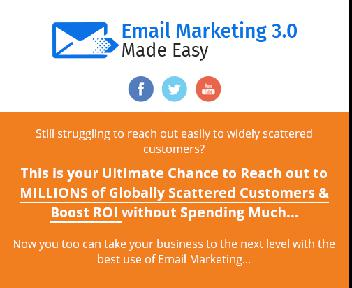 Email Marketing 3.0 discount code