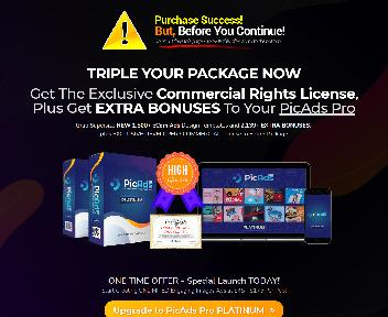 PicAds Coupon Codes