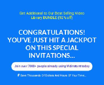 [VIDINSTANT] – Our Best Resource Video & Design Library Coupon Codes