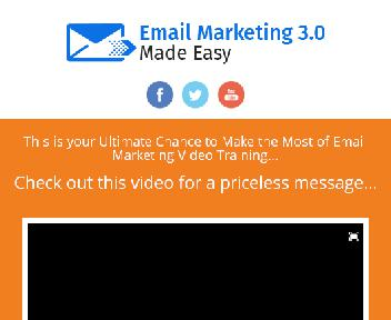 Email Marketing 3.0_HD Video Training discount code