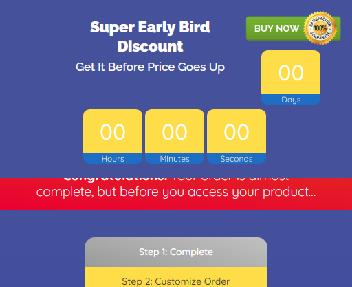 Glitch Style Promotions Templates Coupon Codes