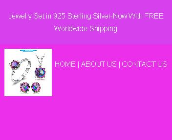Jewelry Set in 925 Sterling Coupon Codes