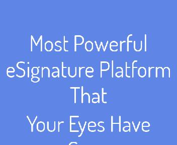 PowerSign Coupon Codes