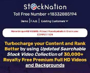 StockNation Business - 25,000 HD Premium Videos + Inbuilt Video Editor with Commercial Rights discount code