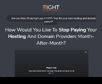 Eight Webhosting Coupon Codes