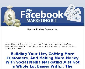 RR - My Facebook Marketing Kit With Resale Rights discount code