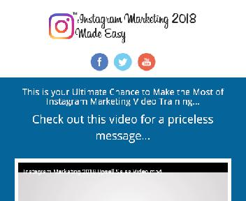 Instagram Marketing 2018 up-sell Coupon Codes