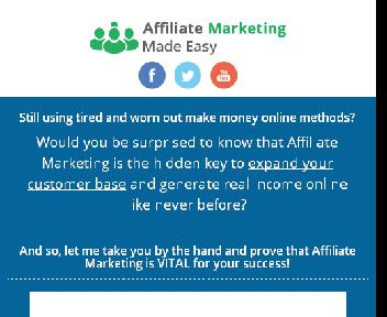 Affiliate Marketing Made Easy Coupon Codes