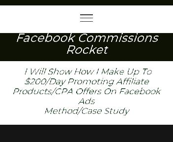 FB Commissions Rocket Coupon Codes