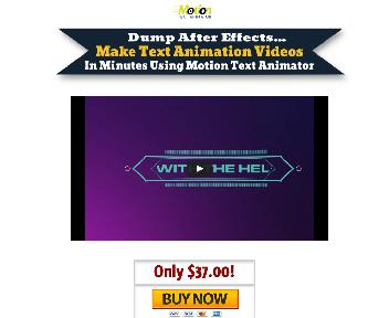Motion Text Animator Coupon Codes