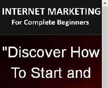 Internet Marketing For Complete Beginners eBook With MRR discount code